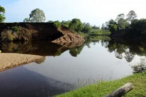 island reach swimming hole