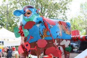The Tomato Festival Tomato-Cow... makes sense?