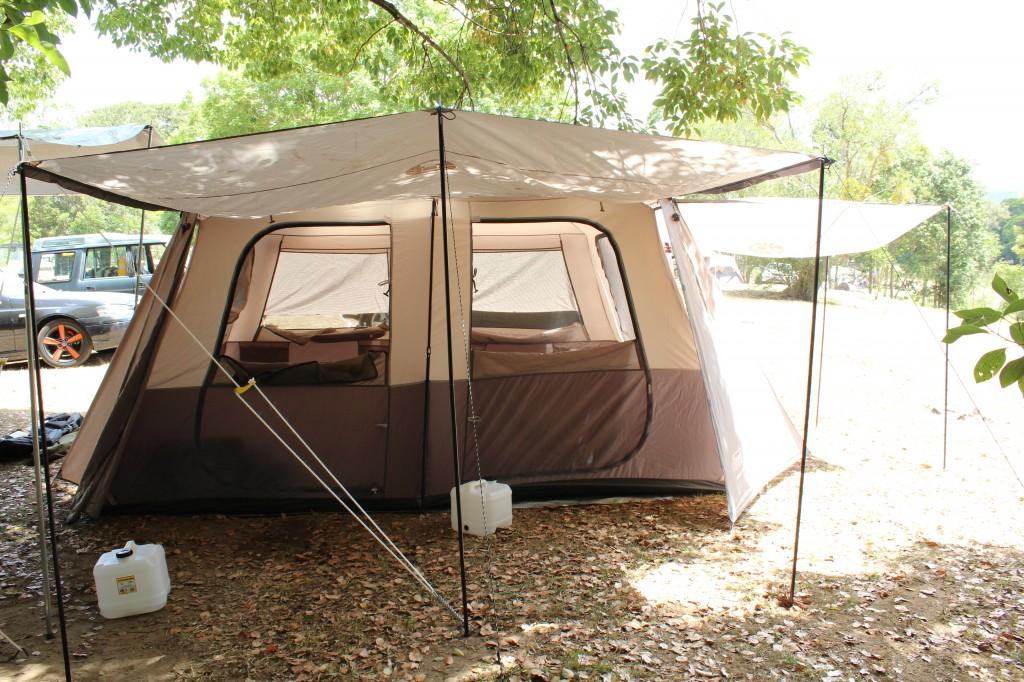 Coleman quick pop tent