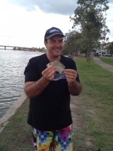 Mark's big catch