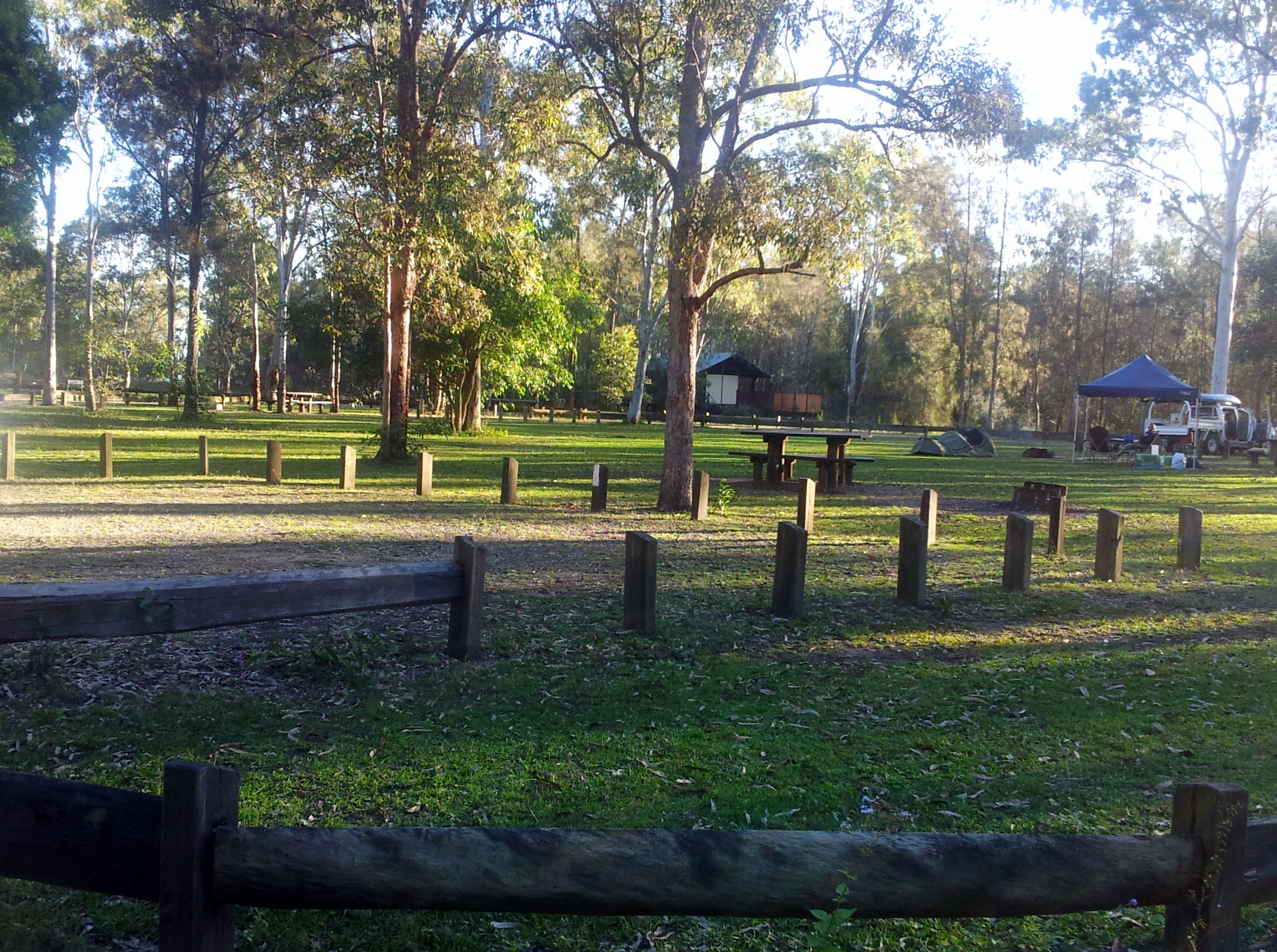 Poverty Creek Campgrounds - Bribie Island Review | The Tent, The ...