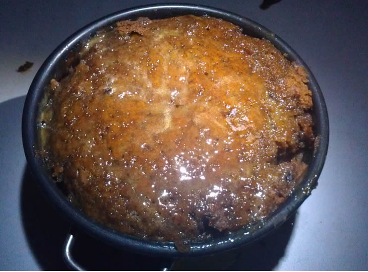 Camp Oven Steamed Pudding