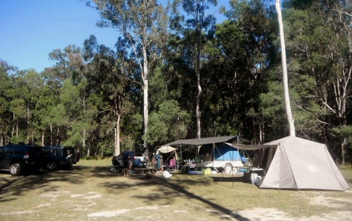 Cobb and Co Nine Mile Camping, Gympie