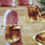 Haloumi Wrapped In Prosciutto
