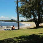 The beach at Shaws Bay